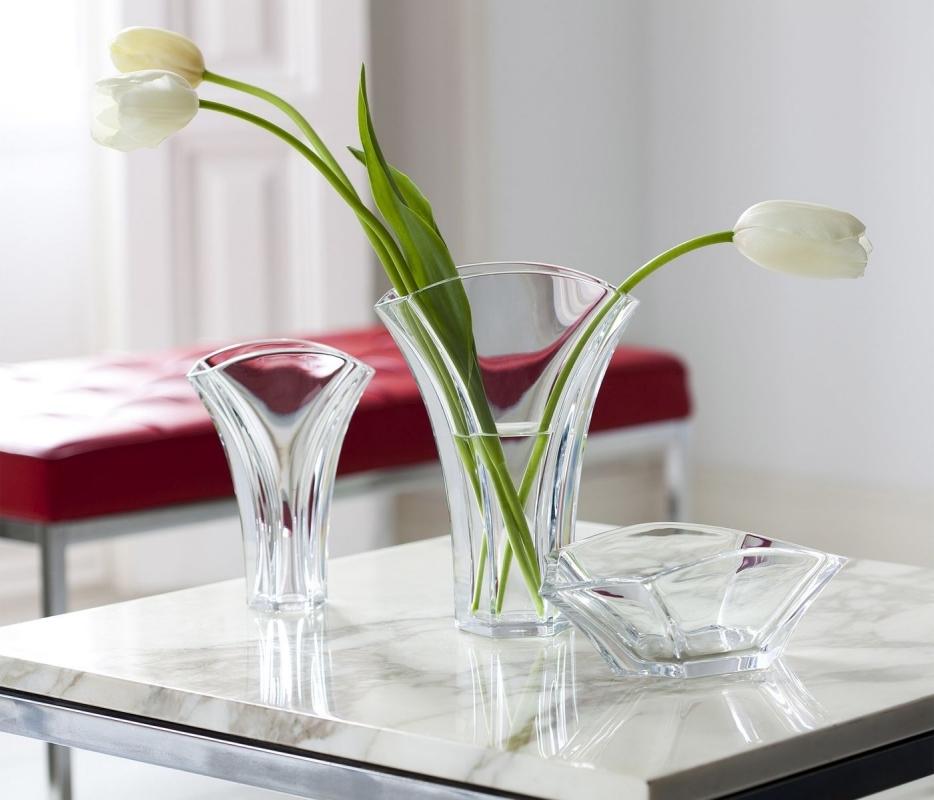 Crystal vases GINKGO by THOMAS BASTIDE